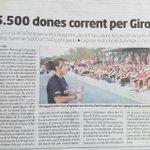.@DiarideGirona #CursadelaDonaGirona objectiu superat! #Girona serà rosa #DTEGirona #GironaEnjoySport @isabelmv67 https://t.co/xGFe5b1sab