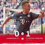 Hier nochmal hochoffiziell - wir gewinnen das 5. @bundesliga_de-Spiel in Folge! 💪#MiaSanMia #HSVFCB https://t.co/HC4DECOA13