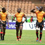 #AfricaCup7s celebrations as Uganda take Africa rugby title after  beating Namibia 38_19 in the final in Nairobi https://t.co/OKo4suxJj7