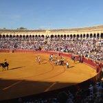 Ambiente de gala por San Miguel en #Sevilla https://t.co/DkXYRJp8cm