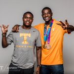 Great to have #VFL @justingatlin back on Rocky Top! https://t.co/SZAl4vLdHx