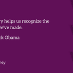 """The best history helps us recognize the mistakes that weve made."" #APeoplesJourney #MakingHistory https://t.co/eeLQq9hQ0A"
