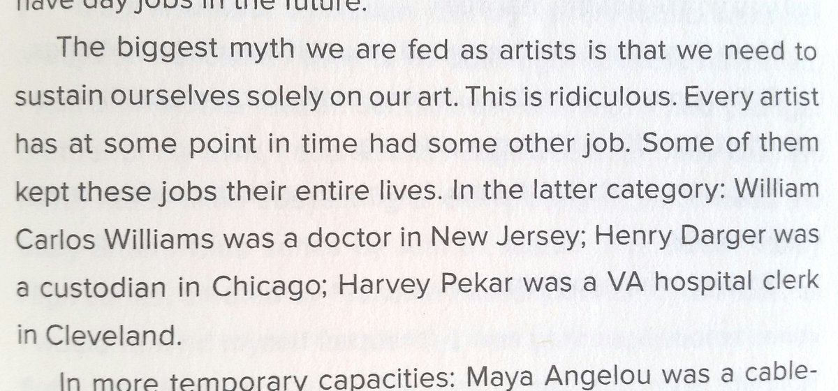 For all my frustrated artist friends, a truth bomb by @SaraJBenincasa https://t.co/9WhnKTTpSK