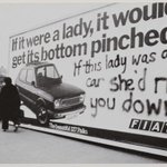 Iconic feminist graffitti (UK) 1979, photographed by Jill Posener, British photographer /activist #womensart https://t.co/ELEcIVo0JF