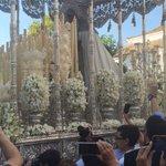 María Santísima de La Paz inicia su traslado a la Catedral. Fotos de MPPG. https://t.co/0Xxv4U3JvZ