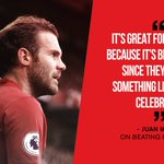 .@JuanMata8 says the fans deserved yesterdays performance at Old Trafford... #MUFC https://t.co/CCZyQyVYLg