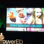 Lets create a world with no zombie worksheet children! #makered #tedxwestvaned @librarymall https://t.co/wr8I3i6NAb