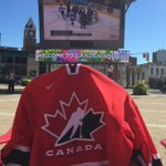 Cheer on @HC_Men in their semi-final #WCH2016 game against @russiahockey_en. Today at 7pm in #GardenSQ! Dont forget your #TeamCanadaGear. https://t.co/s7cID6SzGs