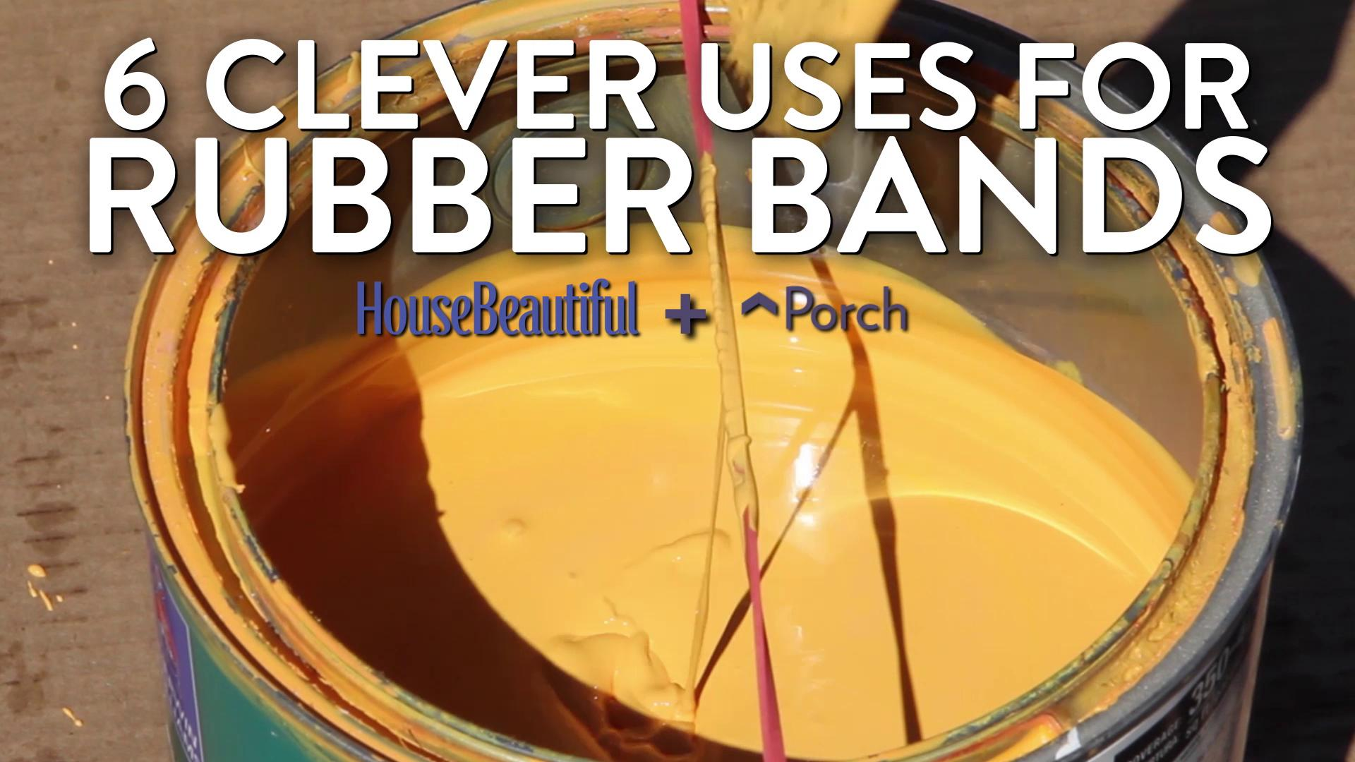 Thanks to @porchdotcom, we now know 6 more ways to use rubber bands https://t.co/YgYamlrVwx