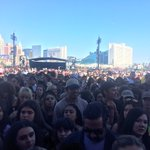 OMG! Look at this crowd, #iHeartVillage filled up fast! #iHeartFestival - whos ready for @PanicAtTheDisco ? https://t.co/dY04HL9nJP
