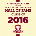 Here is the 2016 Iowa State Athletics Hall of Fame Class! https://t.co/HrwP2lThbs