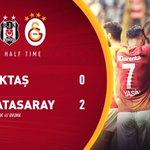 DEVRE | Beşiktaş 0-2 Galatasaray https://t.co/QngOfeptLD