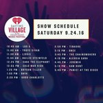 Our #iHeartVillage just started! Who are you excited to see perform today? 🎤 https://t.co/C1frgj3Vg5