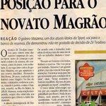 Dia histórico na dependências do Leão da Praça da Bandeira. (Via @Berdantorres) #Magrão600 https://t.co/S6dSG7DeUn