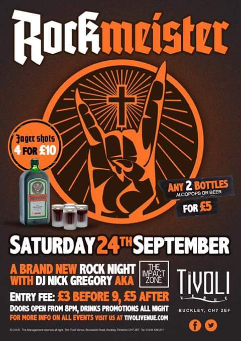 Holy shizz, I'm only bloody doing it!!! @Tivoli_Venue #Rockmeister https://t.co/iB3SQBixy8