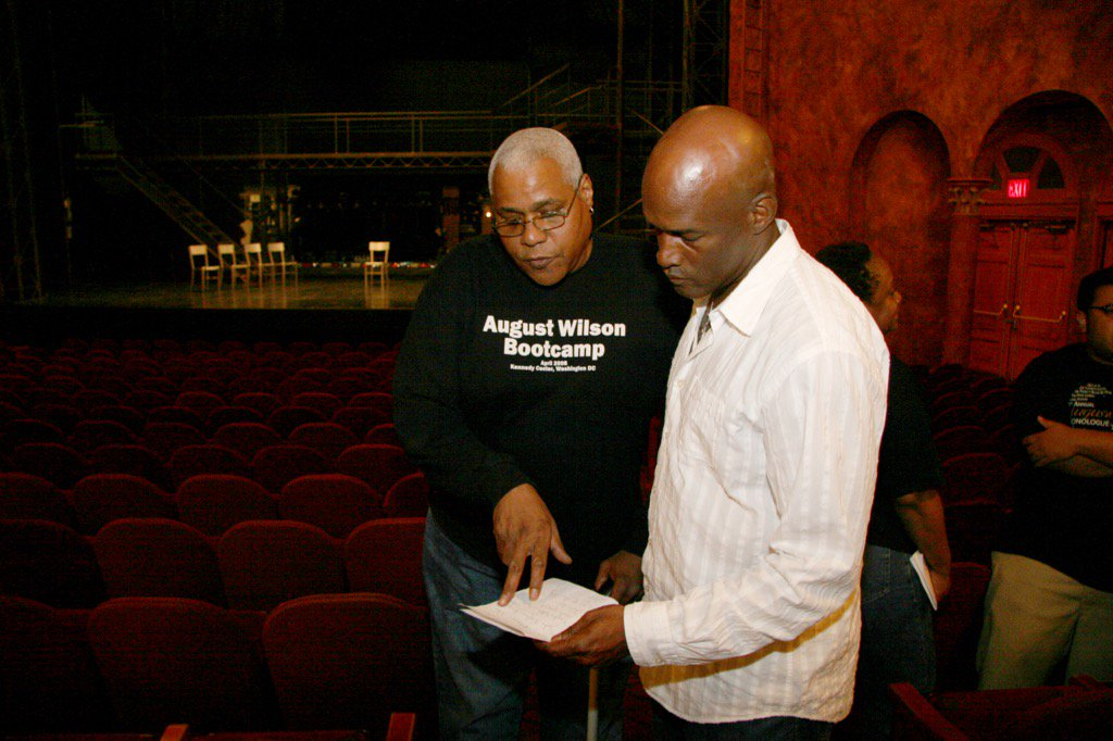 What a MAN..at the very first August Wilson Monologue competition in NYC R.I.P Bill Nunn https://t.co/OALCuiU3xA