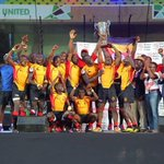 Excuse me while I re-do this celebration; #Uganda are #Rugby #AfricaCup7s CHAMPIONS! #TakeABow 👏🙌 https://t.co/0wwgvScVIA