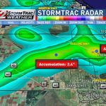 """2-4"""" of rain has fallen this afternoon for inland parts of Palm Beach Co. Flood Adv. continues until 5:15. @CBS12 https://t.co/7k55toWICK"""