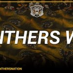 4-3 the GMB Panthers. They get instant revenge for the loss Sunday! #PanthersNation https://t.co/gIZ5AhLYdM