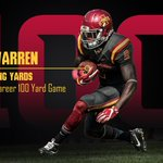 Mike Warren tallied his 7th career 100-yard rushing game with 103 yards. #CyclONEnation https://t.co/giaQH5b9b7