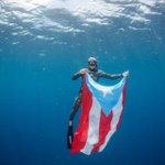 Cosas que merecen ser compartidas.   Boricua establece tercer récord nacional en buceo a pulmón. #AlexAlvarado ❤️🇵🇷💦 @PuertoRicoPUR https://t.co/AteaMSDrv2