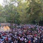 CRÓNICA: La Paz convirtió el otoño en primavera camino de la Catedral https://t.co/509LXufWwl https://t.co/ds8VEoS5zp