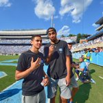 Tar Heels — incl. Marcus Paige & Brice Johnson — receive their 2016 Final Four rings at today's football game https://t.co/Jia9VFjJei