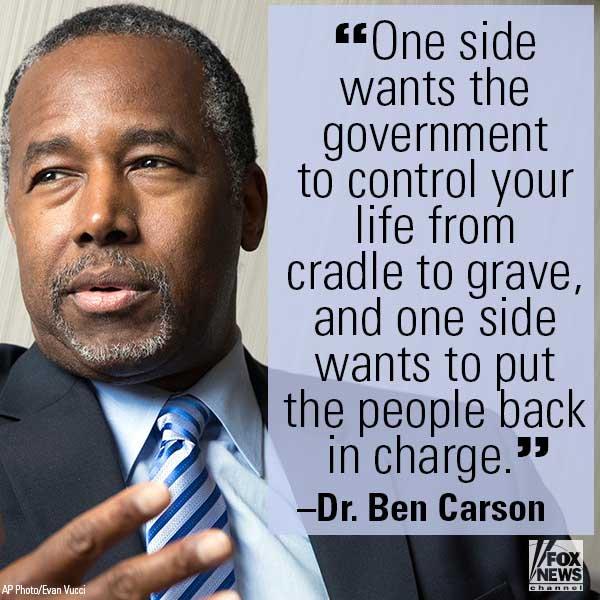 Do you agree with @RealBenCarson?