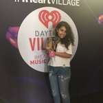 Guys its @alessiacara i want to take this puppy home 😂😂 #iHeartVillage but let me hit the stage first !! https://t.co/yy0FQy6VhN