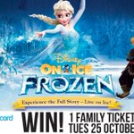 #WIN! A FAMILY TICKET to @DisneyOnIce presents Frozen at @BcardArena 25-30 Oct.  Simply RT before 11/10 to enter! https://t.co/7PAC8iKR5q