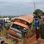 One dead, 13 in hospital after matatu hits grandpa and rolls in Kitui West