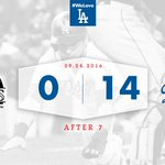 What a grand inning. 😁 After 7: #Dodgers 1⃣4⃣, Rockies 0⃣ https://t.co/k006Cfe7K3