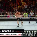 .@JohnCena was prepared for a FIGHT against @BrockLesnar at #WWENOC 2014! #WWENetwork @WWENetwork https://t.co/P6kAFTsjY3