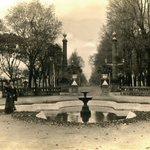 Alameda de #Curicó, año 1910. https://t.co/ZV7SzwesQ7