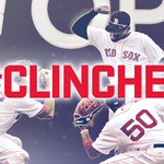 The @redsox earn a #postseason spot with their TENTH straight win – & the AL East crown in their sights. #CLINCHED https://t.co/2dOk8L9eOq