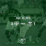 Full time. Timbers lose 3-1 to the Dynamo. #RCTID https://t.co/Qf6bEYi5KI
