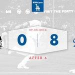 After 6:   #Dodgers 8⃣, Rockies 0⃣  🙌 https://t.co/4WW2H5Zjdf