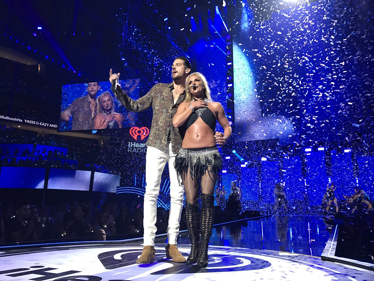 Wow! @britneyspears & @G_Eazy!!! What an incredible start to #iHeartFestival! https://t.co/VX46cPlerf