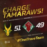 Charge Tamaraws! FEU Tamaraws Defeats UP Fighting Maroons with the score of 51 - 49! #OneBraveTeam #UAAP79 https://t.co/KZo4EPtawQ