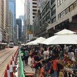 #nocars Sunday in Central #hongkong https://t.co/ATFE89FUrb