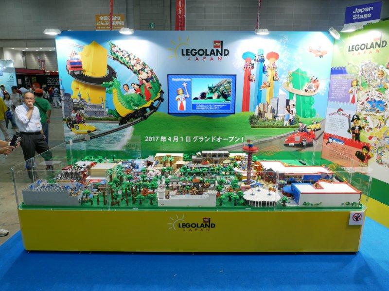 ツーリズムEXPOジャパンにて、アメリカのビルダーによるレゴランドジャパンのジオラマ!ニンジャゴーのカイも来てたよ。(後