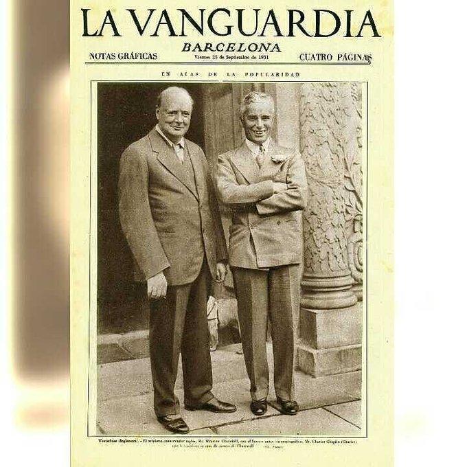 Portada de la vanguardia del 14 de agosto de 1936 hoy - Portada de la vanguardia ...