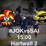Vieraita Lappeenrannasta, Jokerit - SaiPa tänään klo 15! #JOKvsSAI #JokeritA #ASMliiga https://t.co/QVDRSFkmdw