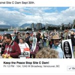@Teelin Stop #SiteC Rally Sept 30th in #Vancouver at Justice Ministers Office. https://t.co/3bLe3meyKL #YVR https://t.co/QoihvnUWtC