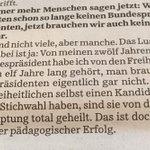Heinz Fischer in der @SZ über den pädagogischen Erfolg in der FPÖ:) https://t.co/0OG6KFMNdH