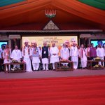 Some pictures from the BJP National Council meeting in Kozhikode. @BJP4India https://t.co/DvJtWHFArI