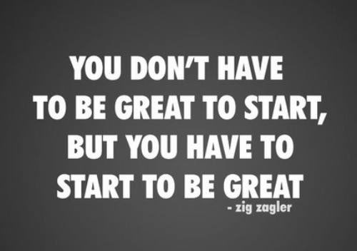 """You don't have to be great to start, but you have to start to be great."" #actorsuk #actorslife #filmmaking"