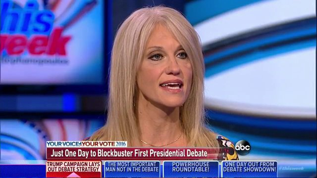 .@KellyannePolls says she understands why Clinton campaign is 'nervous': Donald Trump 'is a brilliant debater.'… https://t.co/b0SiGzgQXE