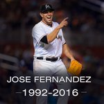 BREAKING: Marlins pitcher José Fernández has died in a boating accident. He was 24 years old. (via @Buster_ESPN) https://t.co/Njre8U3Ncr
