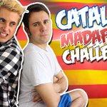 ¡Nuevo vídeo! ▶ https://t.co/uCbwgn0PJ3 CATALAN MADAFAKA CHALLENGE con mi nuevo compi de piso @makingyoufeel!😏 RT!❤❤ https://t.co/a45ENeGhJg